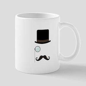 Classy Gentleman Mustache Mugs