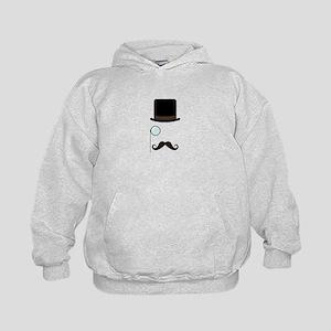 Classy Gentleman Mustache Hoodie