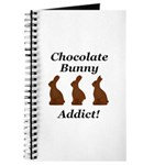 Chocolate Bunny Addict Journal