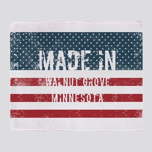 Made in Walnut Grove, Minnesota Throw Blanket