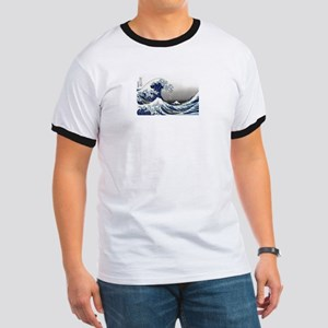 great wave of Kanagawa by hokusai T-Shirt