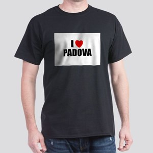 I Love Padova, Italy Dark T-Shirt