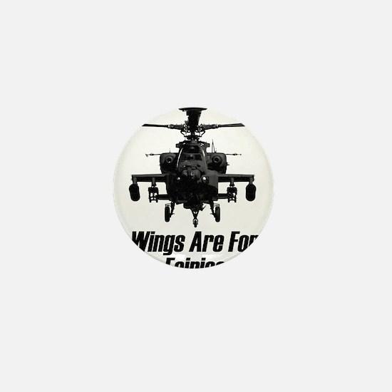 Cute Helicopter Mini Button