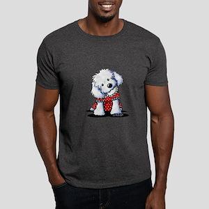 Maltese In Dots Dark T-Shirt