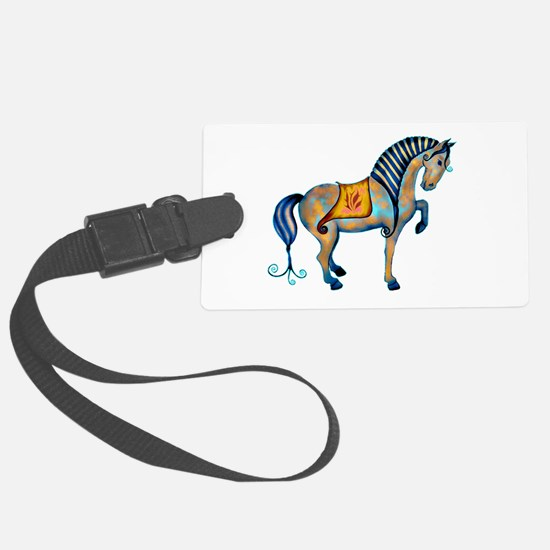 Tang Horse Two Luggage Tag