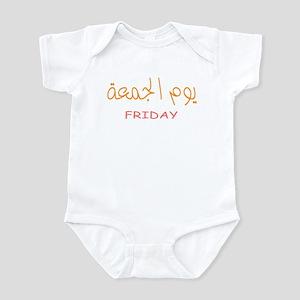 yawmul jumu'ah Infant Bodysuit