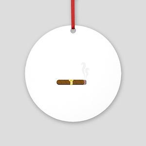 Cigar Ornament (Round)
