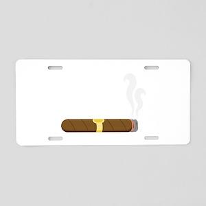 Cigar Aluminum License Plate