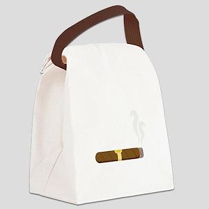 Cigar Canvas Lunch Bag