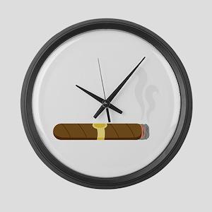 Cigar Large Wall Clock