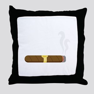 Cigar Throw Pillow
