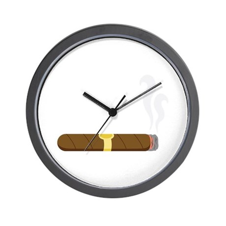Cigar Wall Clock