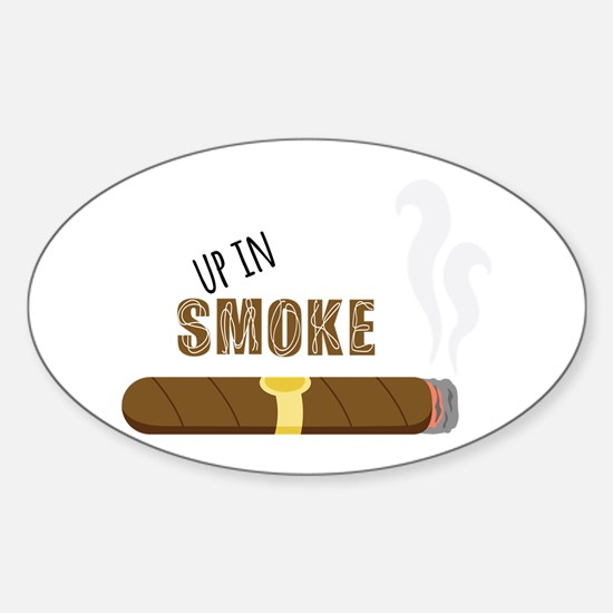 Up in Smoke Decal
