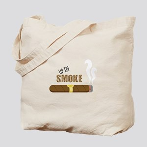 Up in Smoke Tote Bag