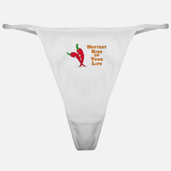 Hottest ride of your life with chili Classic Thong