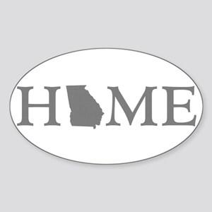 Georgia Home Sticker (Oval)