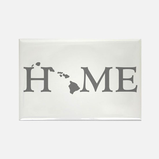 Hawaii Home Rectangle Magnet