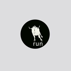 Running With The Bulls Mini Button