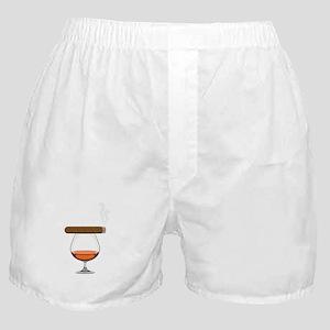 Brandy Cognac Cigar Boxer Shorts