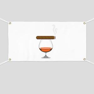 Brandy Cognac Cigar Banner