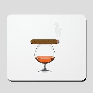 Brandy Cognac Cigar Mousepad