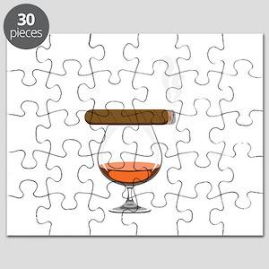 Brandy Cognac Cigar Puzzle
