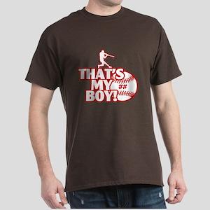 PersonalizedThats My Boy Baseball Batter T-Shirt