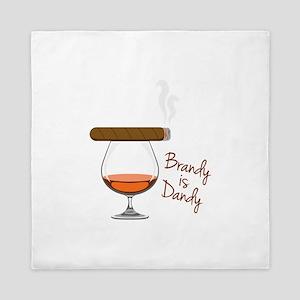 Brandy is Dandy Queen Duvet