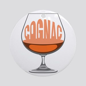 Cognac Ornament (Round)