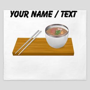 Custom Asian Soup King Duvet