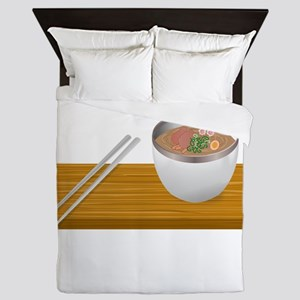 Custom Asian Soup Queen Duvet