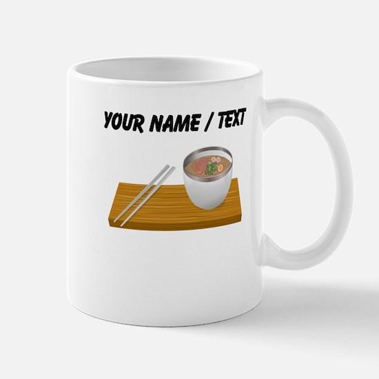 Custom Asian Soup Mugs