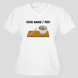 Custom Asian Soup Plus Size T-Shirt