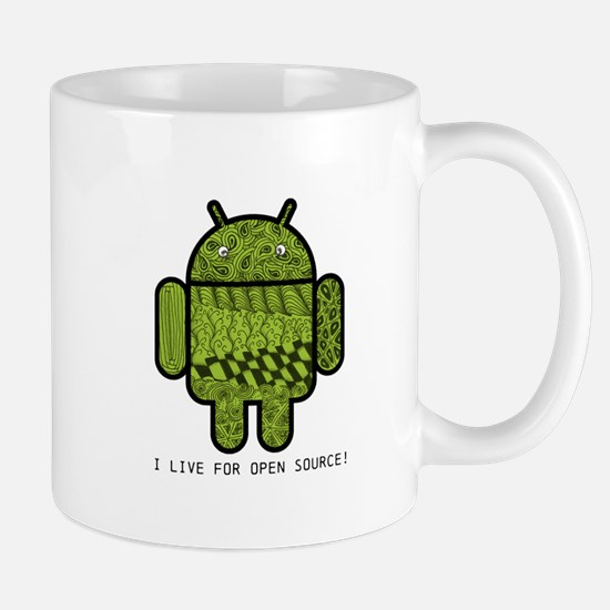 Paisley Doodle Character for Android™ Mug