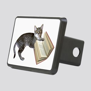 Reading Cat Rectangular Hitch Cover