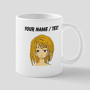 Custom Manga Girl Mugs