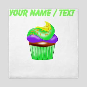 Custom Colorful Cupcake Queen Duvet