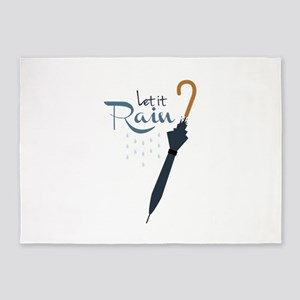 Let it Rain 5'x7'Area Rug
