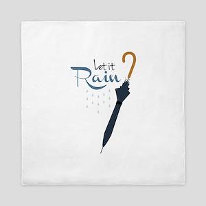 Let it Rain Queen Duvet