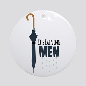 Its Raining Men Ornament (Round)