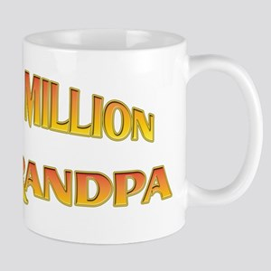 One In A Million New Grandpa Mug