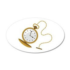Pocketwatch Wall Decal