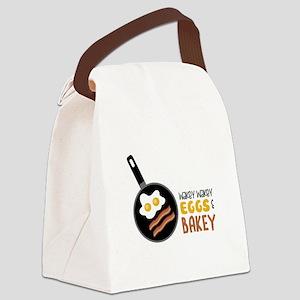 Wakey Wakey Eggs Bakey Canvas Lunch Bag