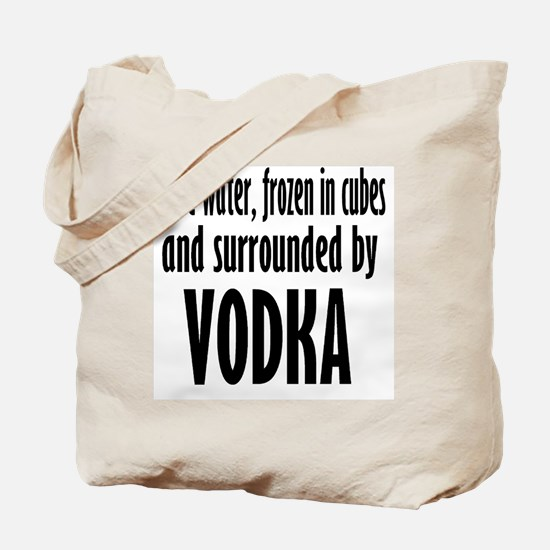 vodka humor Tote Bag