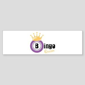 Bingo Queen Bumper Sticker