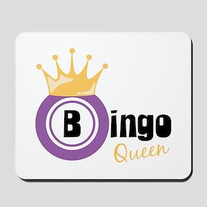Bingo Queen Mousepad