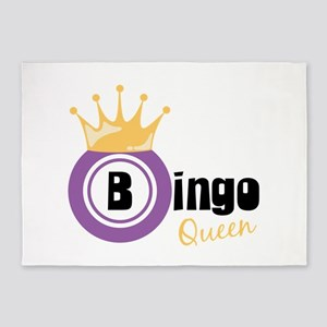 Bingo Queen 5'x7'Area Rug