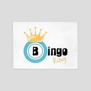 Bingo King 5'x7'Area Rug