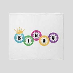 Bingo Throw Blanket