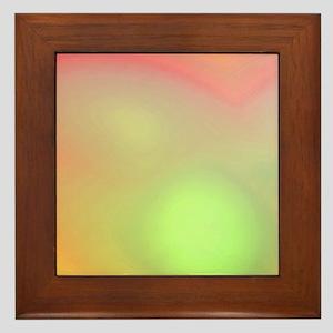 Cloudy Tie Dye Framed Tile